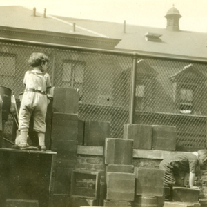 12 Street Roof, Block Play, 1930s