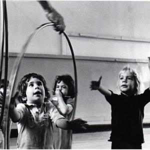 IIIs Work with Hoops in Rhythms, 1971-72