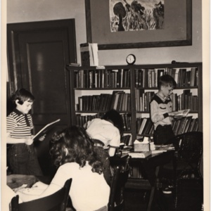 Library, 1949-50