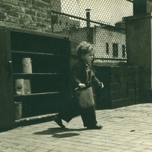 Child with Bucket on Roof, late 1930s