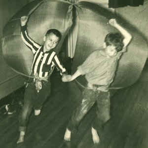 VIIs Run With Scarves in Rhythms, 1941